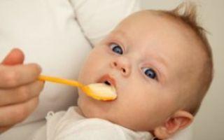 Смешанное вскармливание грудничка: схема, как правильно кормить